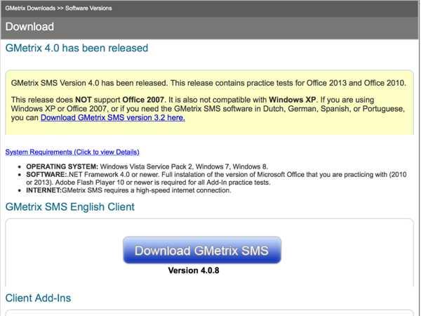 Www Gmetrix Download