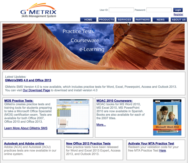how to create a gmetrix student account